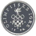 1 kuna - Olympic Games - Atlanta 1996