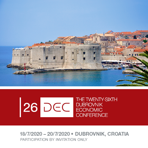 The 26th Dubrovnik Economic Conference