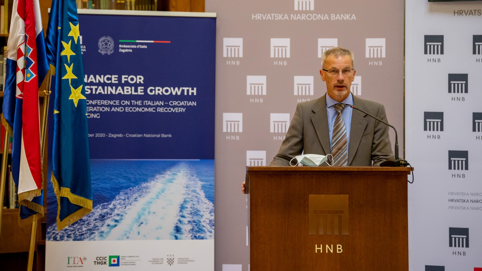 Finance for Sustainable Growth – the conference on the Italian-Croatian cooperation and economic recovery financing
