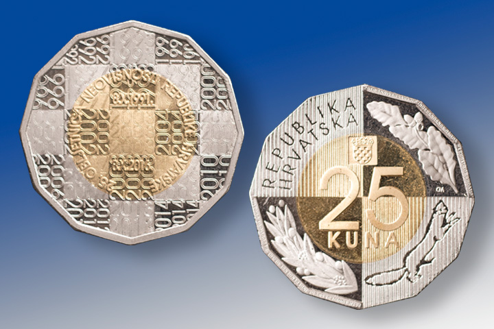 CNB issues new 25 kuna coin